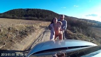 VickyLove car sex part3.