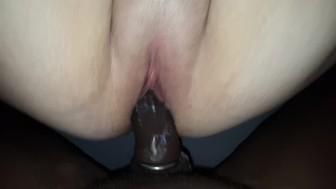 Cream from the pussy (ext cut)