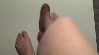 Cock and ball crushing from the perspective of the goddess