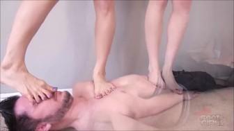 Orias & Luna Trampling brattyfootgirls.com