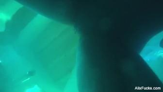 Alix Lynx' Underwater Hidden Cam