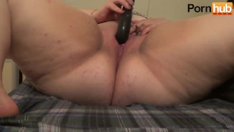 Masturbation with Black g-jack