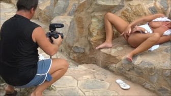 The making of The Haunted bateria de Cabo Tiu00f1oso with Natalie K