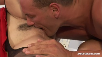 Busty Terry Gets Ass Fucked and Cum Drenched