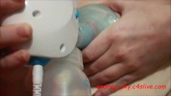 Electric breast pumping- andrea sky