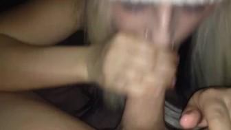 Eva swallows lots of cum :)