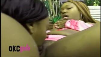 BLACK HOT OKC GIRLS # 1