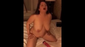 Bouncing on toy