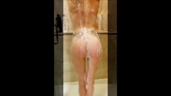 Shower slide show
