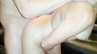 Sucking my fuck buddy and having him fuck me till he cums deep in my pussy