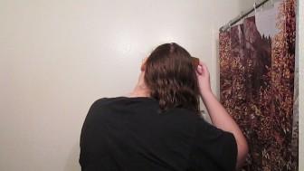 Hair Journal: Combing Long Curly Strawberry Blonde Hair - Week 8 (ASMR)