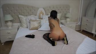 Anisyia Livejasmin wet riding and ass twerking 4K