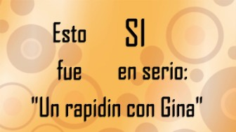 Un Rapidín con Gina: Descripción Gráfica - El Rinconcito de Gina