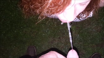 Outdoor Watersports, Clothed Piss Drinking & Piss Play
