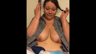 BBW titties busting out