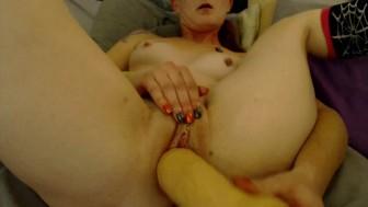 Angel masturbatin with her Fav LG toy