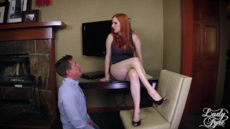 Horny Boss Makes Employee Eat ASS then Fucks him. FULL VIDEO Lady Fyre