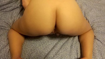 Euro Teen masturbates her pussy and cums