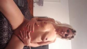 Teen lucy fuckdoll drinks her cum