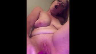 Playing with my pink wet pussy