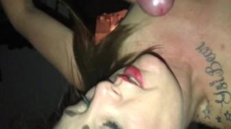 Jess finally gets to taste Sid's hot sticky load
