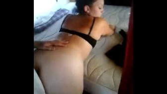 Big ass latina slut fucked by stepbrother