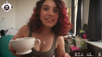 ♥ MARIA ALIVE - BREAKFAST 1000 CALORIE NO MAKE-UP, AFTERMATH ♥
