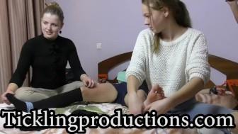 Tickling Vika part 1 - * THE A&A team strikes *