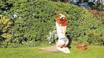 Little Abbie Sunbathing Park Tease Trailer