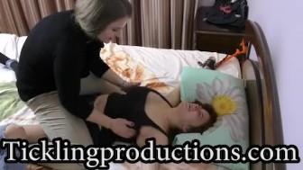 Tickling Vika part 2 - * Shake Her Boobies *