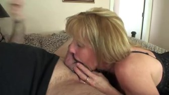 Mature Blonde Creampied By A Masked Stranger