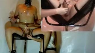 Bondage Chair Milking Denial