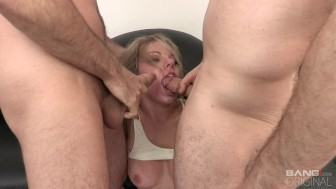 BANG Casting: Trisha Parks' Face Stuffed with Two Giant Dicks