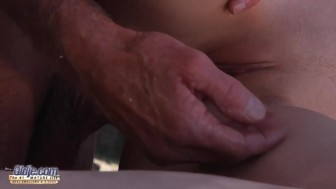 Young Teen Beautiful Eyes Goes To a Sex Therapist Gets Fucked by Old Man