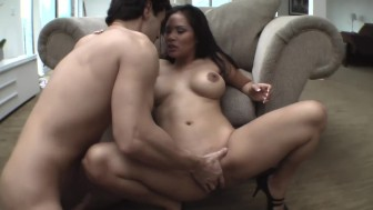 Asian MILF JESSICA BANGKOK Squirts All Over Huge Cock