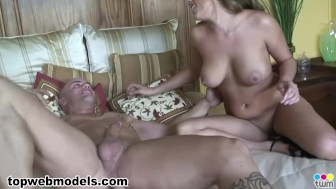 Busty Big Tits KATIE CUMMINGS Fucked and Facialed! A++