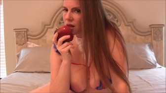 Snow White Masturbating
