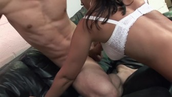 THREE BIT TIT BLONDE COPS FUCK TWO LUCKY DUDES