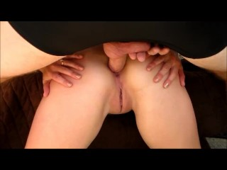 Afternoon Ass-Fucking & Anal Creampie POV