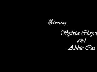 Homemade Lesbian Pornstar Video With Sylvia Chrystall&Abbie Cat HD.