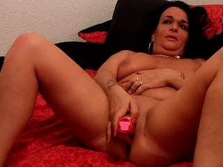 Horney British Gilf Likes A Big Cock In Every Hole xxx