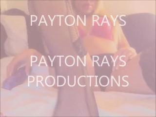 PAYTON RAYS PLAYS -HOT BLONDE WITH TOYS