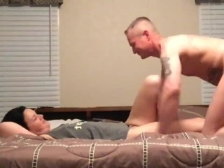 D gets her pussy pounded hard