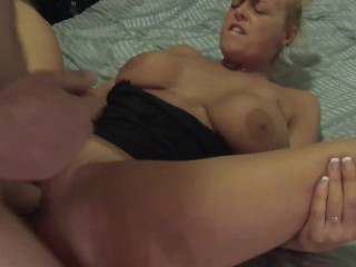 My 1st hardcore video! Fucking, two big facials, & a pile of dirty sheets!