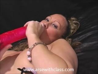 Fucking my big toy & spreading my pussy, I'm NatalieK loving masturbation