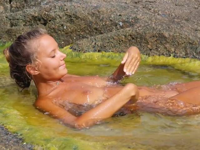 Katya Clover - Naked Beach Dancer[corsica Summer 2014] - Free Porn Videos - YouPorn