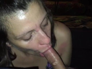 Baby taking care of me... She sucks my cock better than anyone!