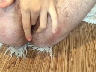 Mega cumshot and dildo fuck