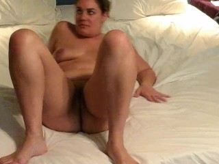 Mommy has a dildo in her ass and a cock in her pussy.....