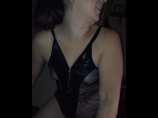 Girlfriend smoking and blowjob